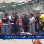 Miramar: Asesinan a mujer de 10 puñaladas