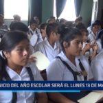 La Libertad: Inicio del año escolar será el lunes 13 de marzo
