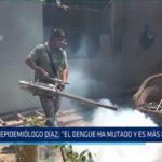 """Epidemiólogo Díaz: """"El dengue ha mutado y es más peligroso"""""""