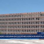 Chimbote: Padres de bebé fallecido aseguran que hubo negligencia en Hospital Regional