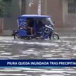Piura queda inundada tras precipitación