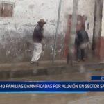 Otuzco: 40 familias damnificadas por aluvión en sector Santa Rosa