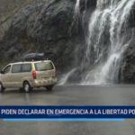 Piden declarar en emergencia a La Libertad a causa de lluvias