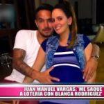"""Juan Manuel Vargas: """"Me saqué la lotería con Blanca Rodríguez"""""""