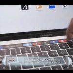 La nueva Macbook Pro de Apple tendrá una barra táctil