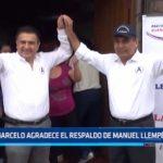 Trujillo: Daniel Marcelo agradece el respaldo de Manuel Llempén en APP