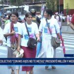 """Lima: Colectivo """"Con mis hijos no te metas"""" presentó millón y medio de firmas"""