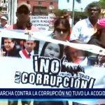 Trujillo: Marcha contra la corrupción no tuvo la acogida esperada