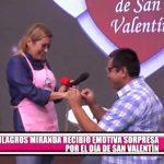 Milagros Miranda recibe emotiva sorpresa por el Día de San Valentín