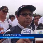 La Libertad: Ministro de Vivienda apoya declaratoria de emergencia