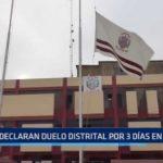 Moche: Declaran duelo distrital por tres días a causa de fatal accidente