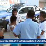 Trujillo: Rescatan a niños en estado de abandono de la avenida Húsares