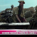 """Jack Sparrow reaparece en nuevo tráiler de """"Piratas del Caribe 5"""""""