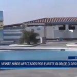 Chimbote: 20 niños afectados por intoxicación de cloro en piscina