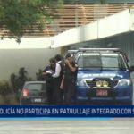 Trujillo: Serenazgo no participa en patrullaje integrado con serenazgo