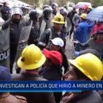 La Libertad: Investigan a policía que hirió a minero en Shorey