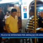 Iquitos: Policía fue intervenido por amenazar con arma a un mesero