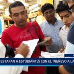 Piura: Estafan a estudiantes con el ingreso a la Universidad Nacional de Piura