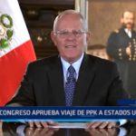 Lima: Congreso aprueba viaje de PPK a Estados Unidos