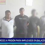Poder Judicial: 9 meses de prisión para 5 implicados en balacera a mujer policía