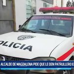 Ascope: Alcalde de Magdalena de Cao pide patrulleros en buen estado