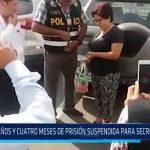 Pataz: 3 años y 4 meses de prisión suspendida para secretaria judicial