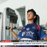 Equipo Sub 15 de la UCV se prepara con miras a Copa Centenario
