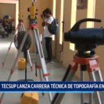Trujillo: TECSUP lanza carrera técnica de Topografía en Trujillo