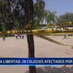 La Libertad: 28 colegios afectados a causa de lluvias