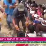 Depeapa visitó a los damnificados de El Milagro y Buenos Aires