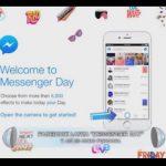 """Facebook lanza """"Messenger Day"""" y así es como funciona"""