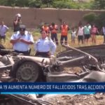 Accidente en Moche: A 19 aumenta número de fallecidos