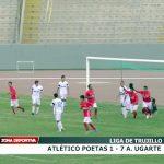 Alfonso Ugarte de Chiclín goleó por 7 a 1 a Atlético Poetas