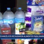 Iquitos: Evangélicos recaudaron alimentos para damnificados