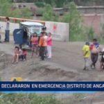 Santiago de Chuco: Declararon en emergencia distrito de Angasmarca