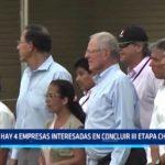 La Libertad: Hay 4 empresas interesadas en concluir tercera etapa de Chavimochic