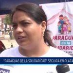 """Trujillo: Campaña """"Paraguas de la Solidaridad"""" seguirá en Plaza Mayor"""