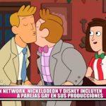 Cartoon Network, Nickelodeon y Disney incluyen parejas gay en sus producciones
