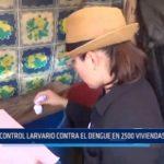 Laredo: Control larvario contra el dengue se llevó a cabo en 2500 viviendas