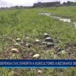 La Libertad: Defensa Civil exhorta a agricultores a retirarse de quebradas