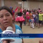 Mampuesto: Llevan alegría a niños damnificados en urbanización Santa Lucía
