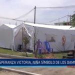 Huanchaco: Esperanza Victoria, niña símbolo de los damnificados