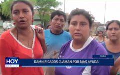 Piura: Damnificados claman por más ayuda