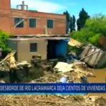 Chimbote: Desborde de ríos deja cientos de viviendas afectadas