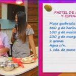 Pastel de acelgas y espinacas en Rico & Baratito