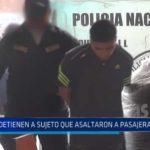 Moche: Detienen a sujetos que asaltaron a pasajera de combi
