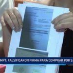 MPT: Falsificaron firma para realizar compras por 117 mil soles