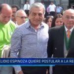 La Libertad: Elidio Espinoza quiere postular a la Región