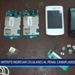 El Milagro: Mujer intentó ingresar celulares al penal camuflados en su bebé