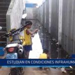 Iquitos: Alumnos estudian en condiciones infrahumanas